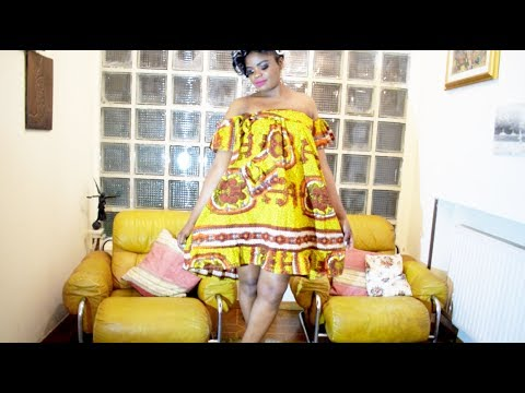 Diy Coudre Une Robe Pagne Africaine Youtube