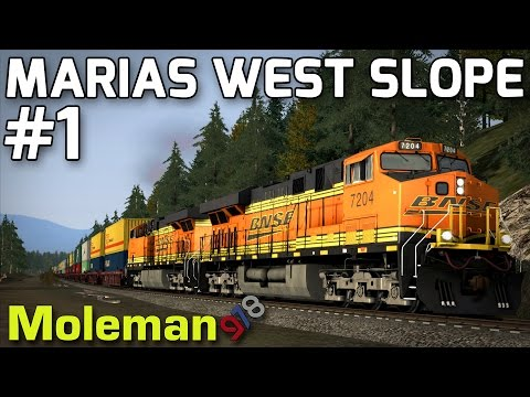Train Simulator 2016 | Marias West Slope Part 1 | BNSF ES44DC