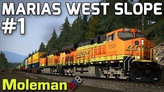 Train Simulator 2016 | Marias West Slope Part 1 | BNSF ES44DC