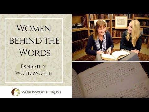 Dorothy Wordsworth  Women behind the Words