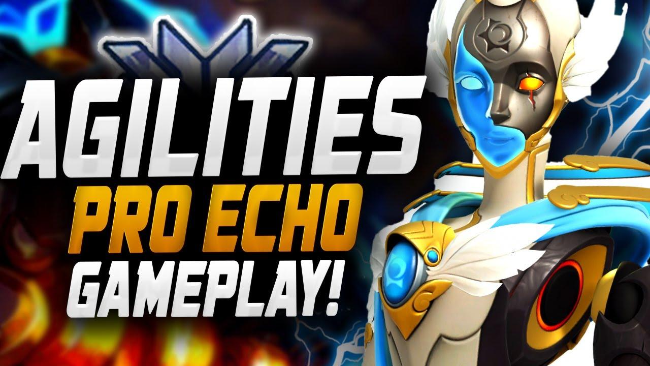 Download Agilities Pro DPS Main Echo gameplay! [ Overwatch Season 27 Top 500 ]