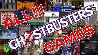 All Ghostbusters Games: 1984 - 2016 Comparison