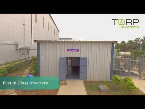 Solar PV Installation by TORP Systems in Apollo Tyres