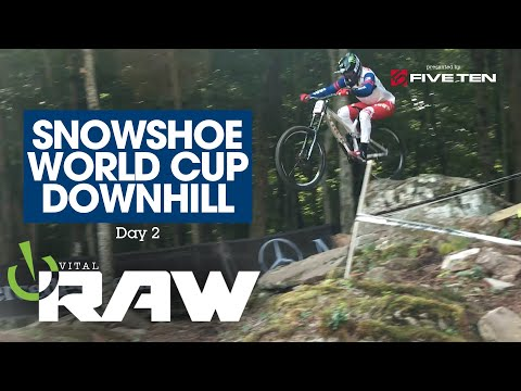 ARE THE ROCKS WINNING? Vital RAW, Snowshoe, West Virginia, World Cup DH 2