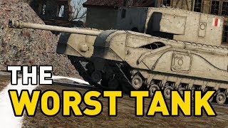 Reviewing the WORST TANK in the game!