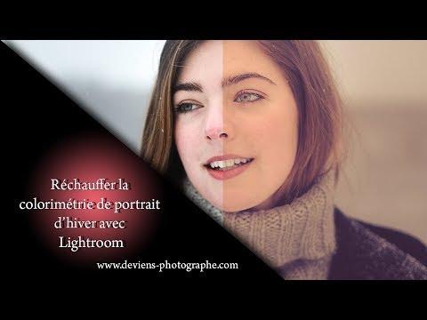 lightroom travail de portrait avec les presets - S06E03