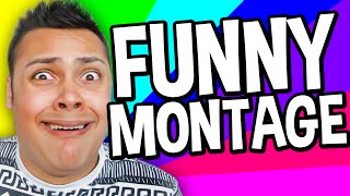 FUNNY MOMENTS MONTAGE (MessYourself Montage)