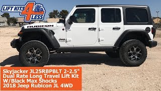 Skyjacker First To The Market For 2018 Jeep JL Long Travel Lift Kit Installed By Liftkits4less