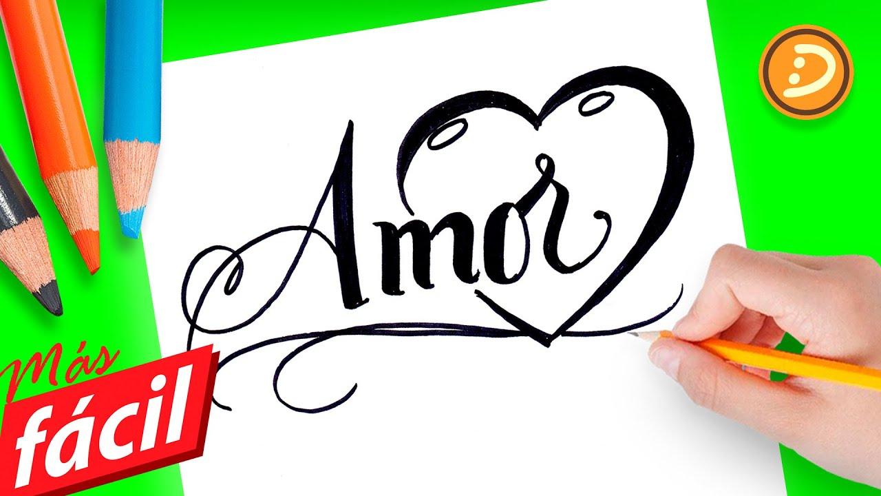 Dibujos Faciles De Amor Dibujos Para Colorear De Amor Faciles De Hacer Paso A Paso Dibujadera