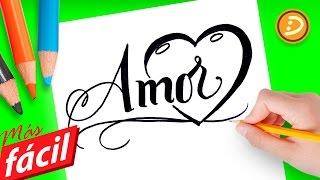 Dibujos faciles de amor, dibujos para colorear de amor faciles de hacer paso a paso - Dibujadera