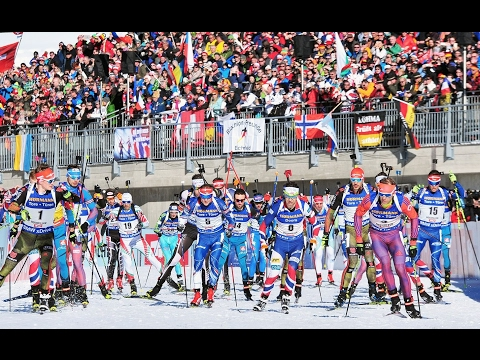 IBU World Championships Mass Start Men Hochfilzen / 19.02.2017