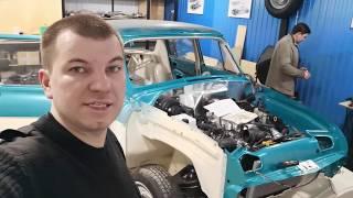 Электрика в ретро авто газ21 с мотором v8
