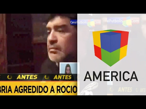 Maradona y Rocío querían pasar la noche separados, desde el hotel se manejaron mal