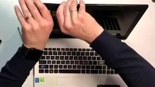 замена матрицы на ноутбуке Asus X552L