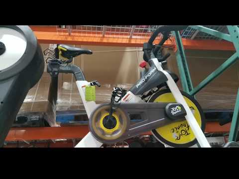 Costco Proform Tour De France Indoor Smart Exercise Bike 399 Youtube