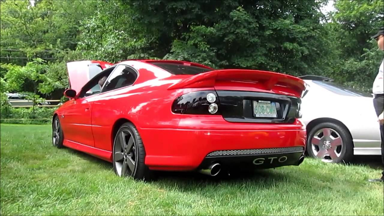 2004 pontiac gto startup and revs youtube. Black Bedroom Furniture Sets. Home Design Ideas