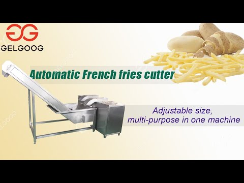 French Fries Cutting Machine High Effective Vegetable ...