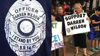 Darren Wilson Supporters: Michael Brown Had It Coming
