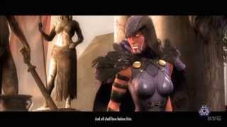 Injustice: Gods Among Us - Wonder Woman VS Raven (Story Battle 43) [HD]