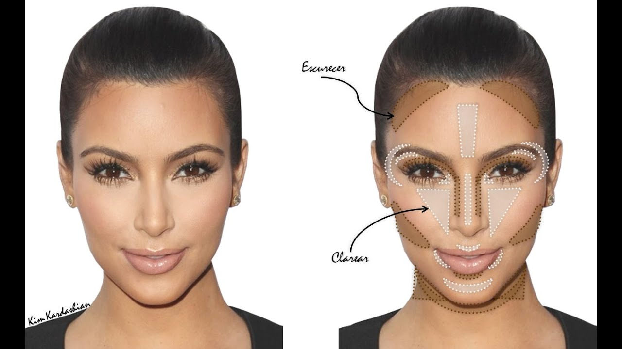 mejor maquillaje contouring