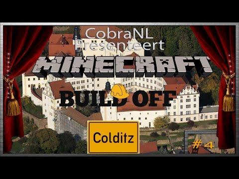 MineCraft Build Off  - Colditz #4 @Cobra01NL