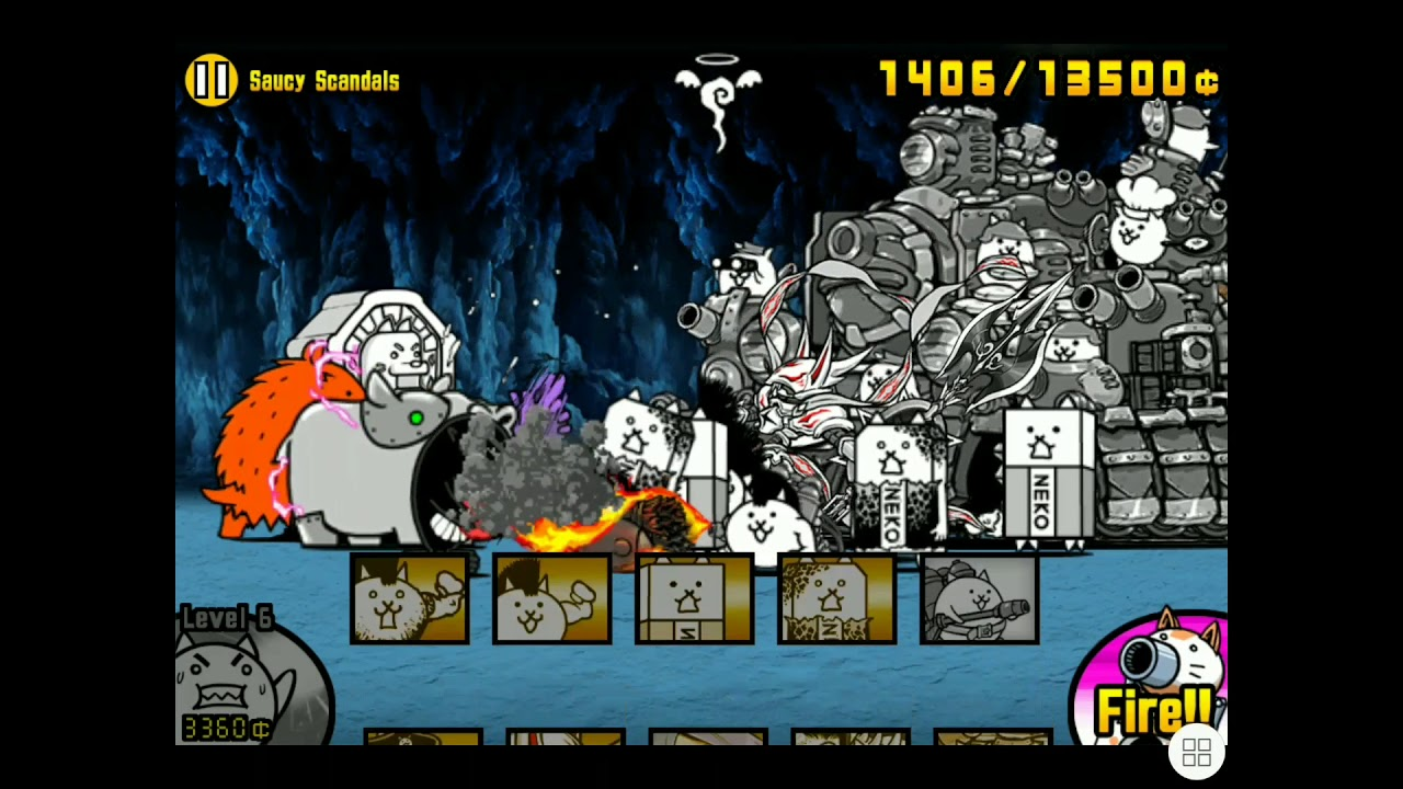 BattleCats - Who needs Top Tier Ubers when you have skills?