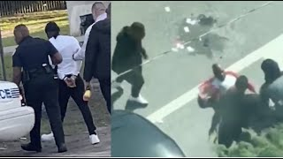 Video of Da Baby and his Entourage Robbing and Beating Guy up in Miami - Da Baby Arrested