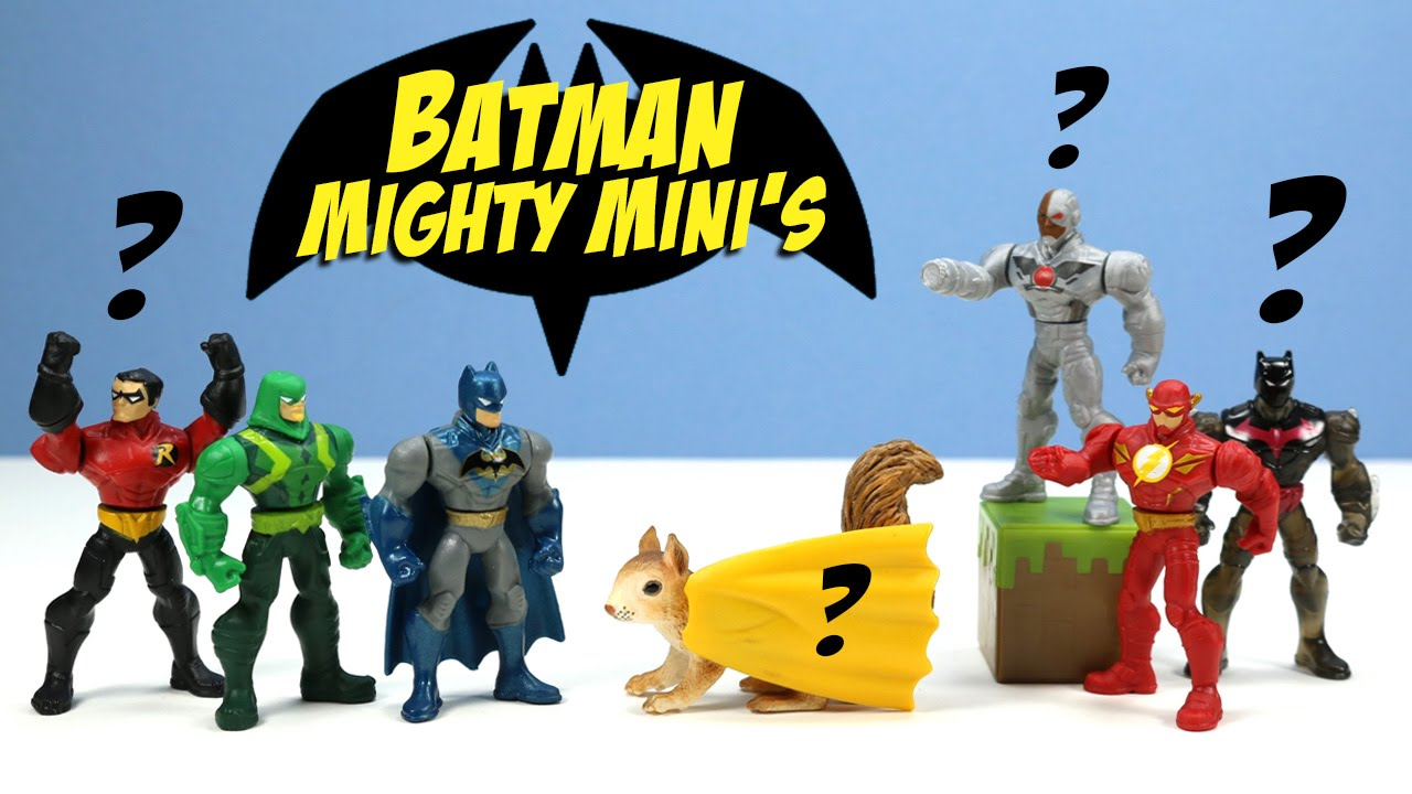 Batman Unlimited Mighty Minis Series 1 Packs Opening And