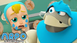 Arpo the Robot | Cleaning Goes WRONG!!! | NEW VIDEO | Funny Cartoons for Kids | Arpo and Daniel
