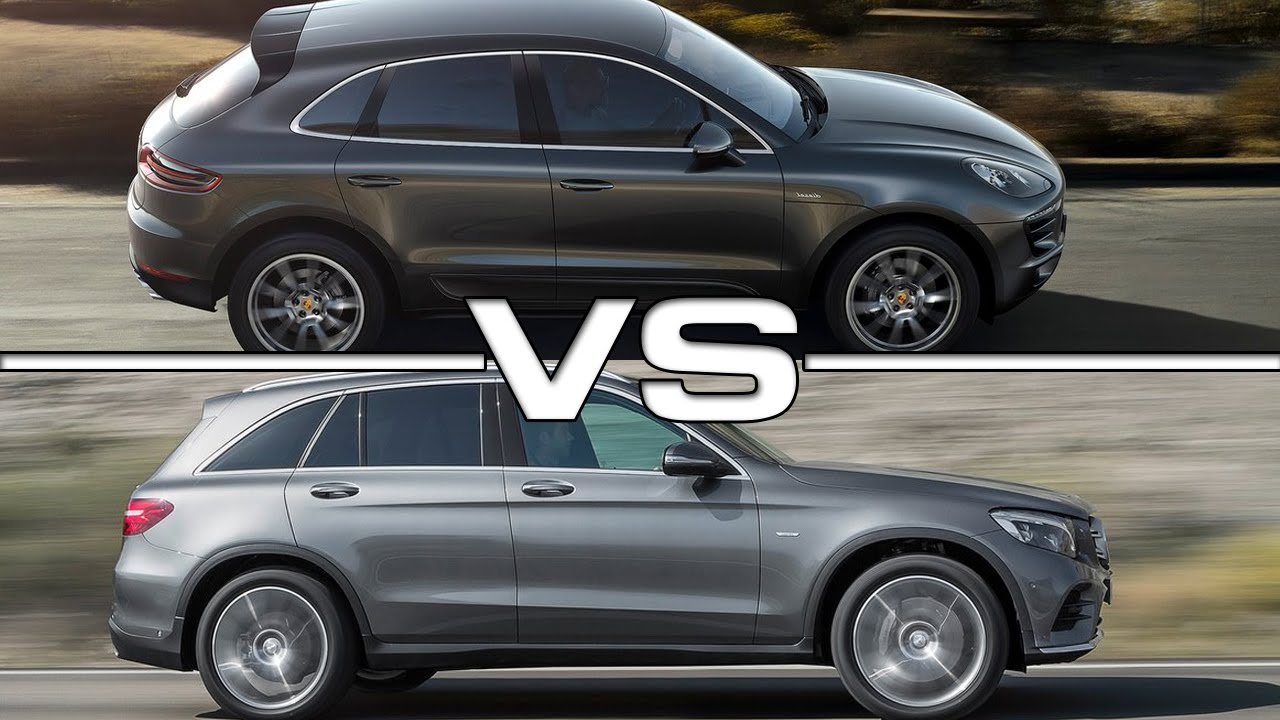 2016 Porsche Macan S Vs 2016 Mercedes Benz Glc Youtube
