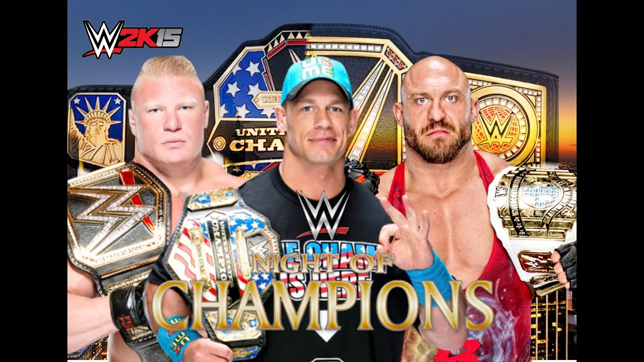 John Cena vs AJ Styles  WWE Title Match Royal Rumble