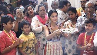 Helly Shah Visit Andhericha Raja | #Tellybytes