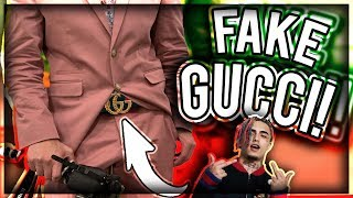 WEARING FAKE GUCCI BELT TO PROM!😂 (GOT EXPOSED) (SCHOOL VLOG)