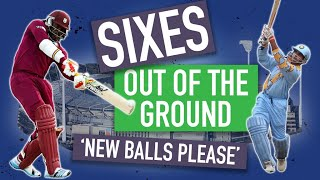 'It has gone a long way' - Out of the ground sixes - Part I