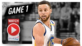 Stephen Curry Full Game 1 Highlights vs Trail Blazers 2017 Playoffs - 29 Pts, 5 Reb