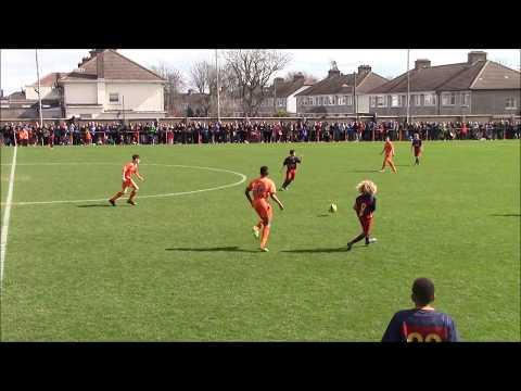 Xavi Simons Individual Clips - FC Barcelona vs St Kevins Boys