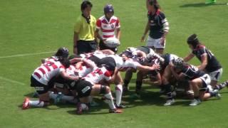 日本代表VS香港代表女子アジアラグビーチャンピオンシップ 後半