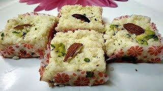 Kalakand Recipe   KalaKand Barfi with Milk   Village Travel Food