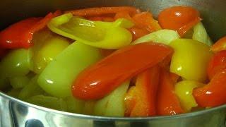 Как приготовить перец ( болгарский ) маринованный. | How to cook pepper (bell) marinated.