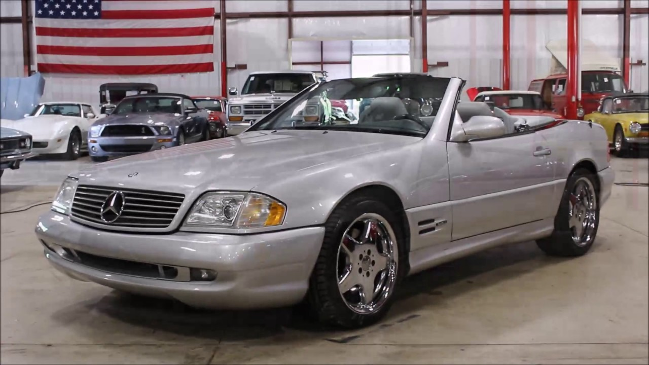 2000 mercedes sl500 silver youtube 2000 mercedes sl500 silver