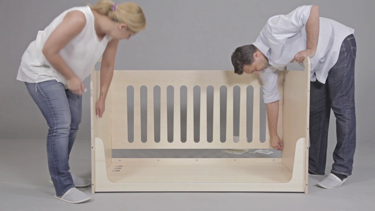 ZOE Assembly Instructions / Crib - Bed - Desk - YouTube