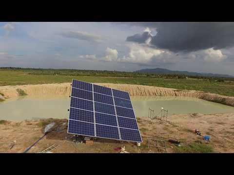 Solar Green Energy (Cambodia) | Solar Water Pump 3HP