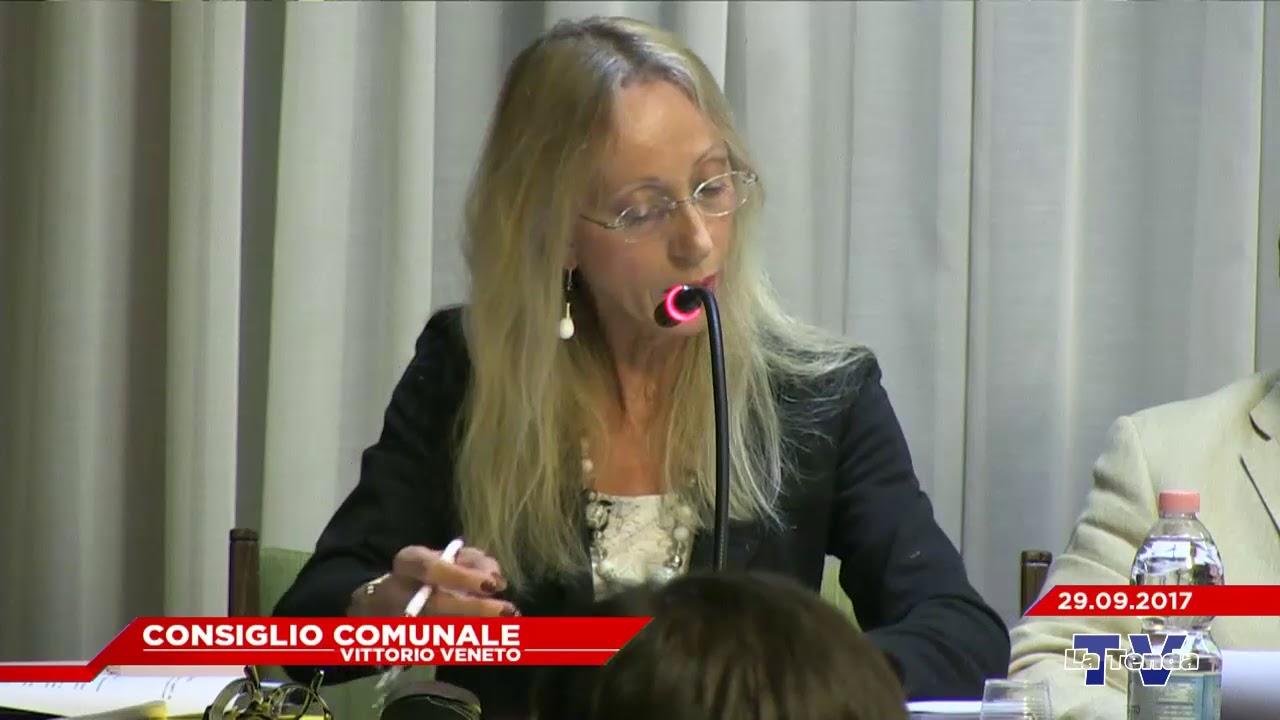 CONSIGLIO COMUNALE VITTORIO VENETO - Seduta del 29.09.2017