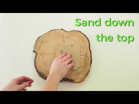 DIY Wood Block Side Table | ao.com