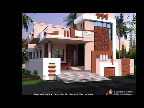 SIMPLE GROUND FLOOR HOUSE ELEVATION