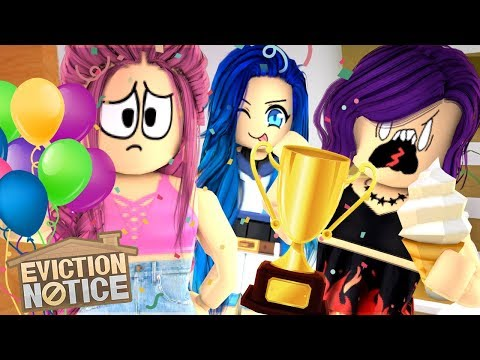 YOU WON'T BELIEVE WHO WON in Roblox Eviction Notice!