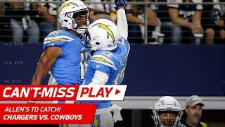 Philip Rivers Tosses TD to Keenan Allen to Finish Off 92-Yd Drive! | Can't-Miss Play | NFL Wk 12