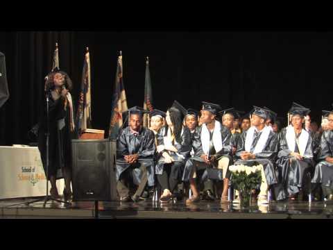 CSSM students sing an original Graduation Song