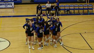 Lake Norman hosts #2 Ranked West Rowan Girls Volleyball