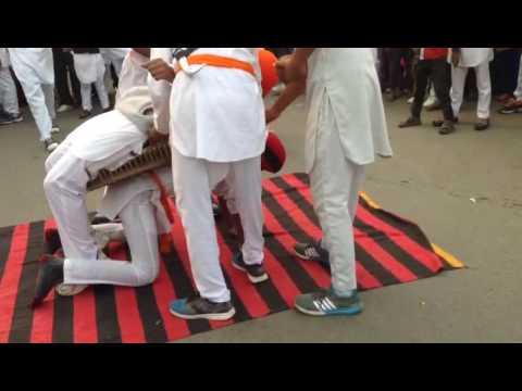 Kaithal Gatka stunt